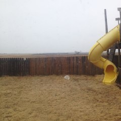 Finally - real, actual rain in southwest Oklahoma!